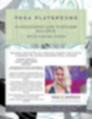 yoga playground - headstand & foream Feb