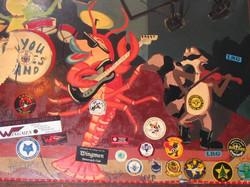bayou mural