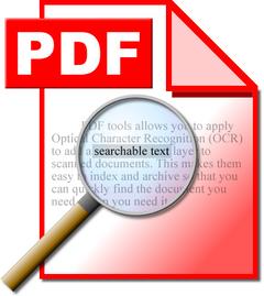 pdf pesquisável