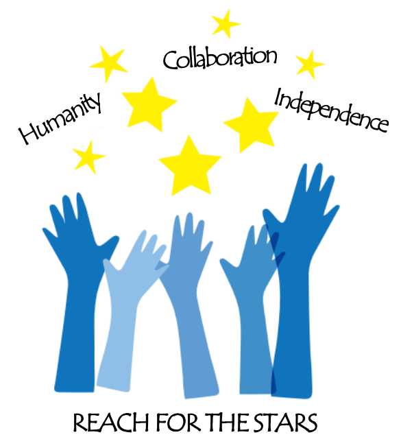 Reach for the stars logo (003)