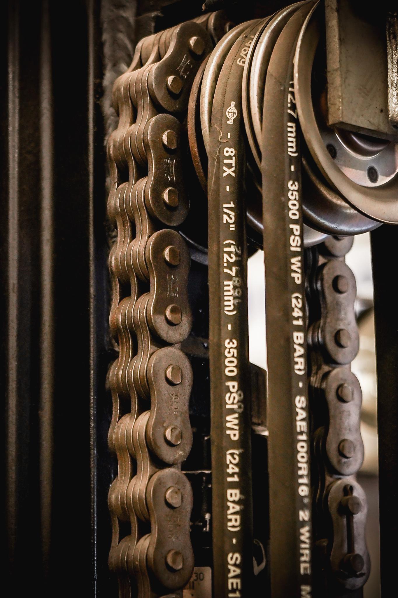 Orbit hydraulic chains