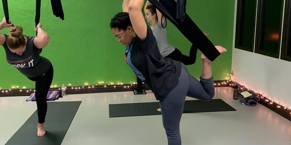 Aerial Yoga Class- Intro REQUIRED