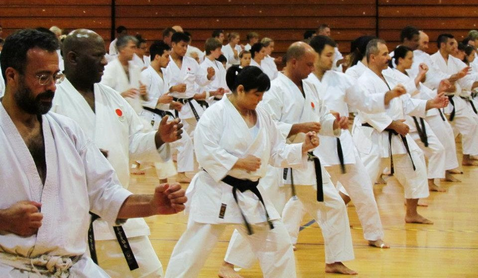 JKA National Karate Training camp welcomes students from across North America to New Orleans, LA.
