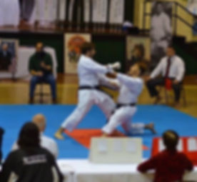 JKA Nationals scoring with punch