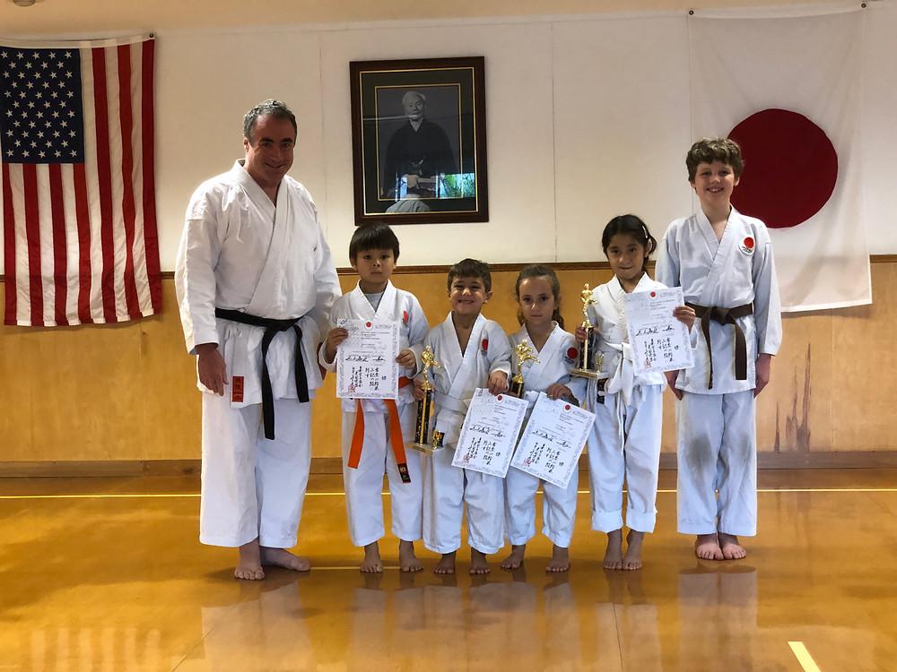 Karate kids proud of passing rank examinations at LKA in Metairie