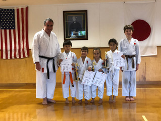 Youth Belt Test Promotions