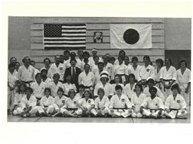 College karate club w/ Sensei Mikami