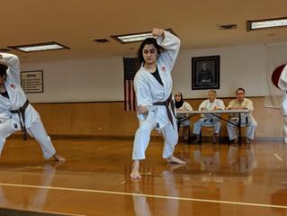 LKA students level up at belt test