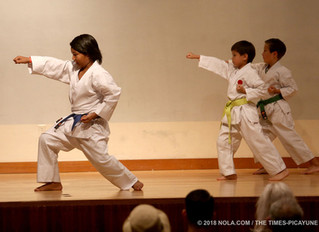 LKA karate kids share passion for the Art at Japan Fest