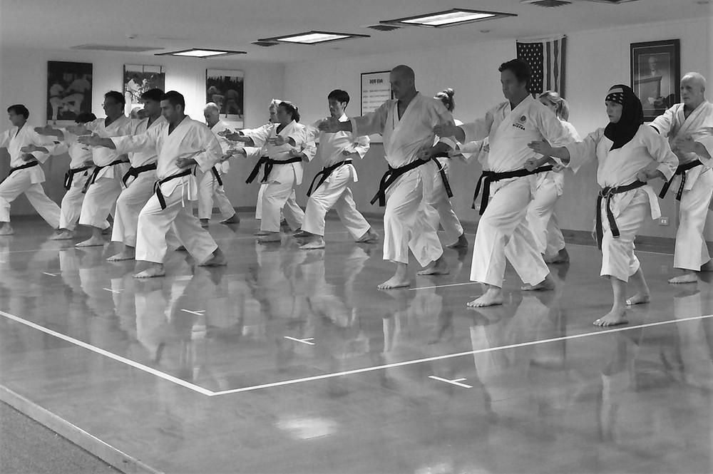 Group training at LKA