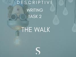 Descriptive writing: It's 'go time'!