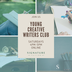 Join us for Young Creative Writers Club