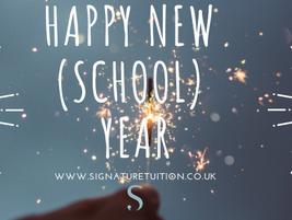 Happy new (school) year!