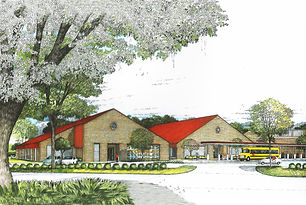 St. Charles Elementary Classroom Additions l Paul J. Allain Architect APAC l New Iberia Louisiana