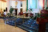 St. Peter's Catholic Church Altar Renovation l Paul J. Allain Architect APAC l New Iberia Louisiana