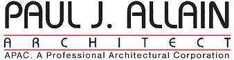 Logo l Paul J. Allain Architect APAC l New Iberia Louisiana