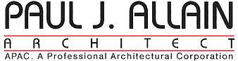 Logo l Paul J. Allain Architect APAC l New Iberia Louisiana
