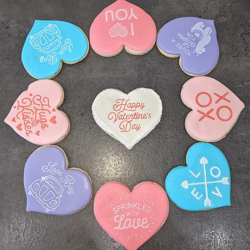 Pre-Order Valentine Sugar Cookie