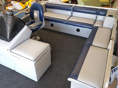 Boat, Boat Repair, Marine Upholstery, Yacht Repair, Yacht, Marine, Sailboat, Sailboat Repair, Blue boat, Marine Repair