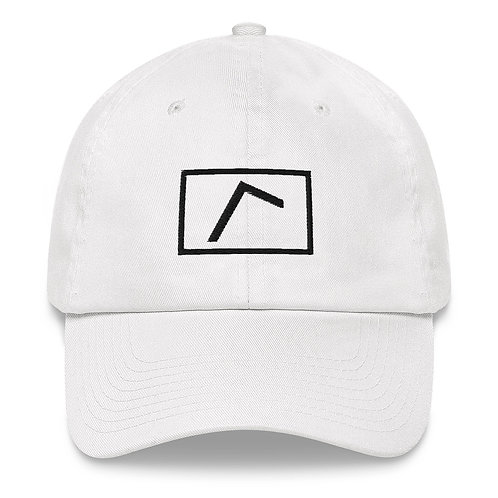 Embroidered Logo Hat White