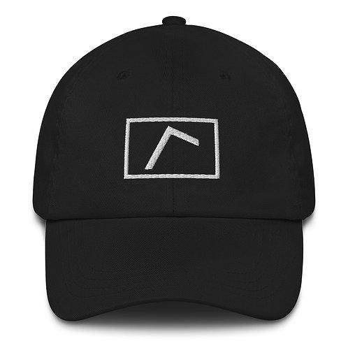 Embroidered Logo Hat Black
