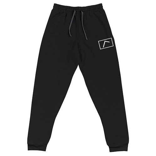 Embroidered Logo Joggers Black