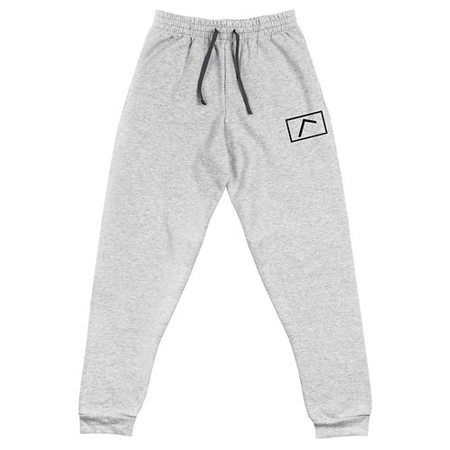 Embroidered Logo Joggers Grey