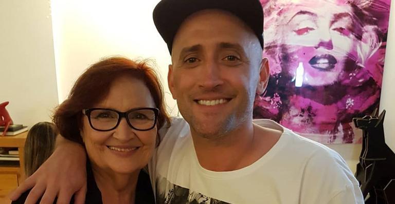 Paulo Gustavo e sua mãe Dona Hermínia