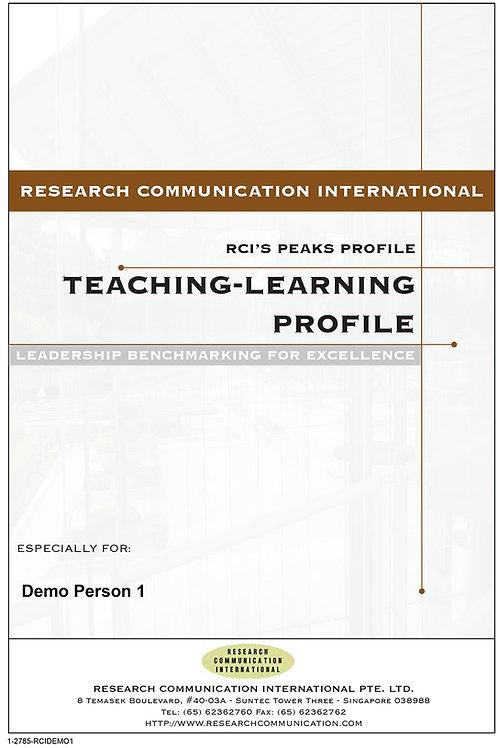 PEAKS™ Teaching & Learning
