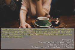 Testimonial - SPC_FmrChiefExec_Career&EducationExhibition_TheresaYeoh