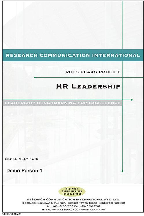 PEAKS™HR Leadership
