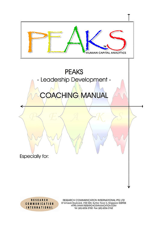 PEAKS™ Coaching Manual - Leadership Development