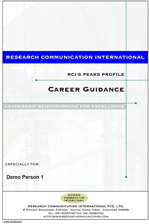PEAKS™ Career Guidance