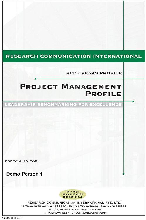 PEAKS™ Project Management