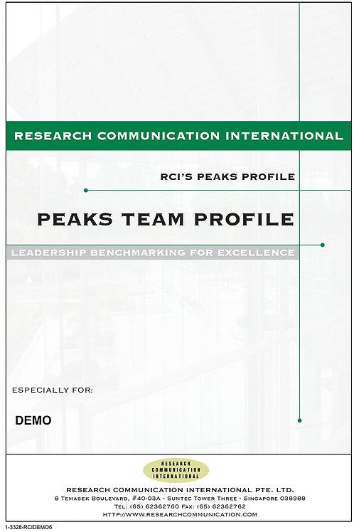 PEAKS™ Teamer