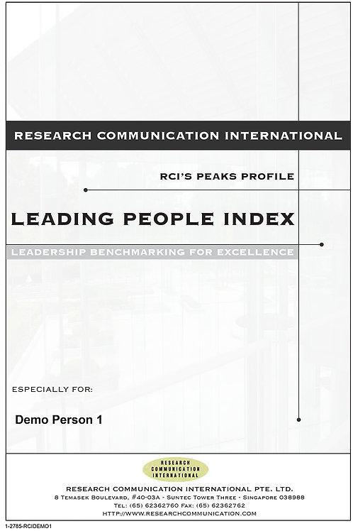 PEAKS™ Leading People Index