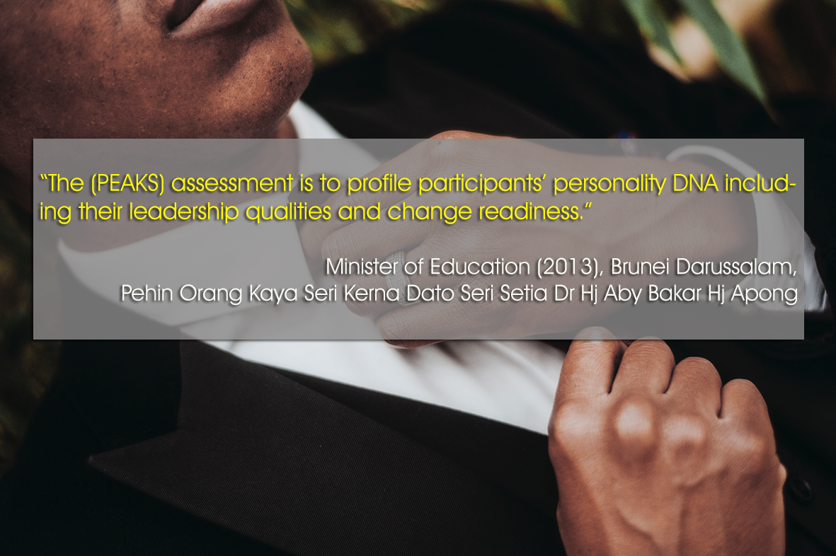 Testimonial - Minister of Education, Brunei 2013