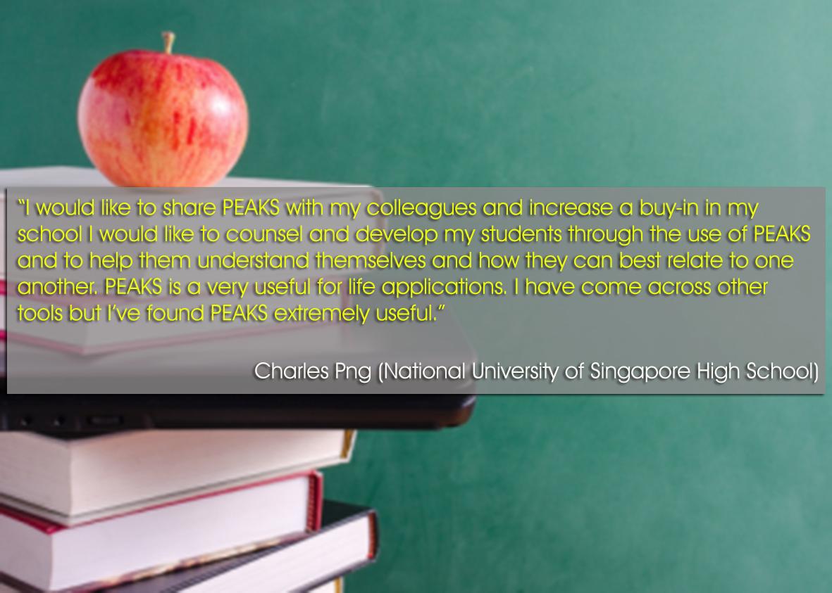 Testimonial - Charles Png (NUS High School)