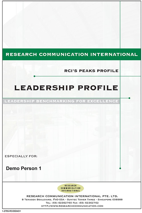 PEAKS™ Leadership