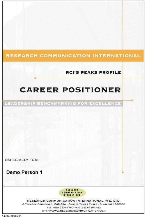 PEAKS™ Career Positioner