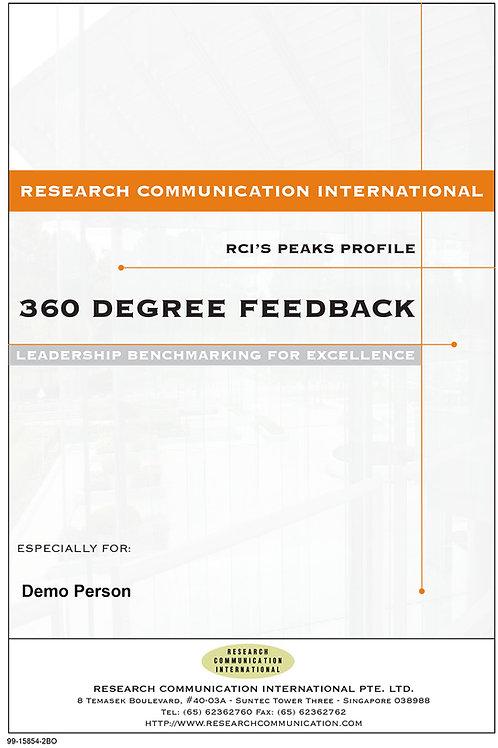 PEAKS™ 360 Degree Feedback