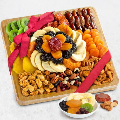 Gift Tray, Fruit and Nuts