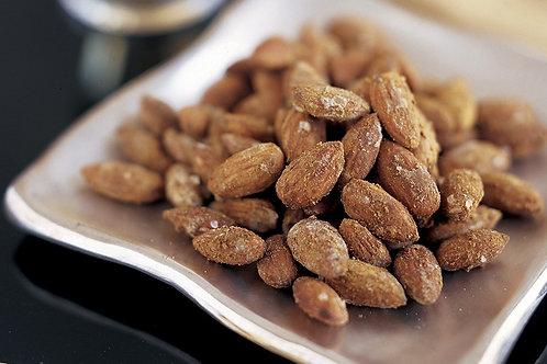 Wasabi almonds