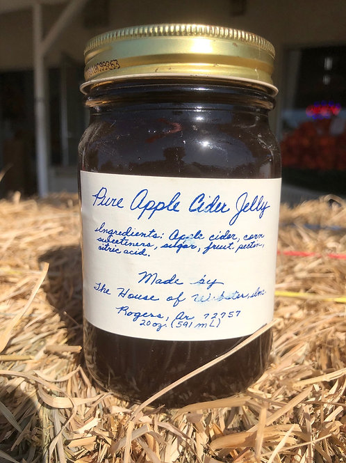 Pure Apple Cider Jelly