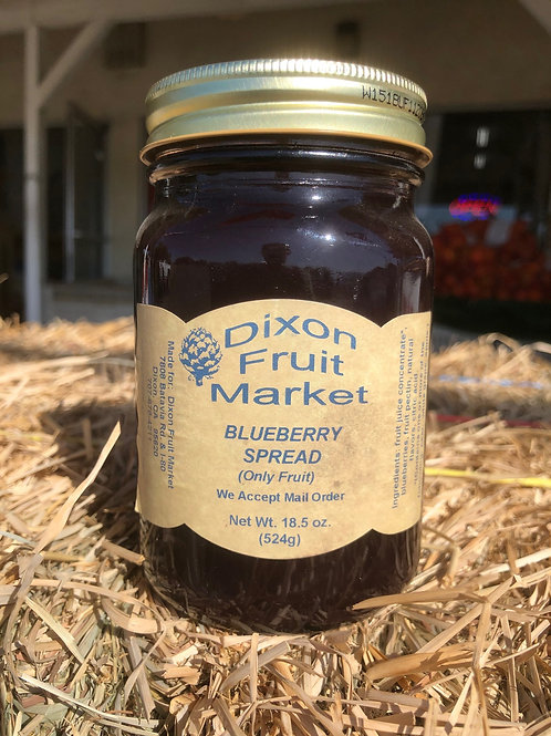 Blueberry Spread (Only Fruit)