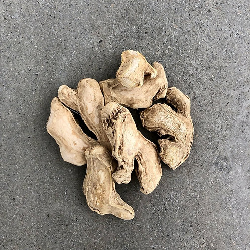 Sun dried ginger