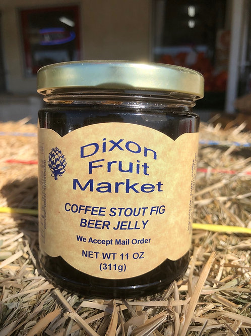 Coffee Stout Fig Beer Jelly