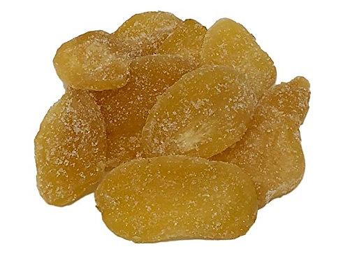 Sun dried un-sulphured ginger