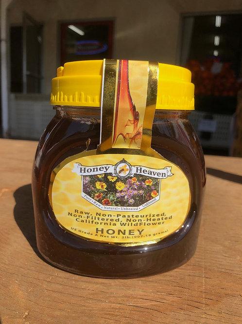 Honey Heaven Raw-Non Pasteurized 2 lb.