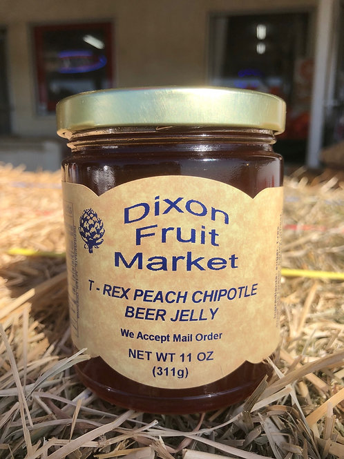 T-Rex Peach Chipotle Beer Jelly